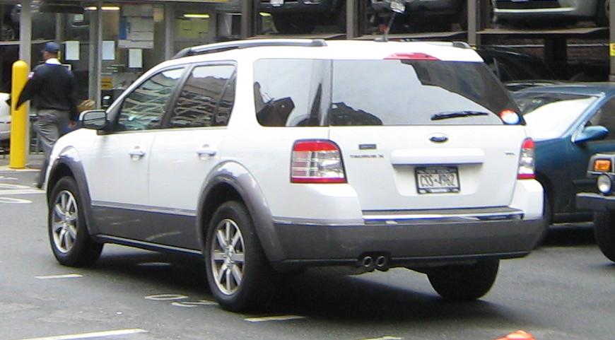 Ford Transit Wagon >> Ford Taurus X – Wikipédia, a enciclopédia livre
