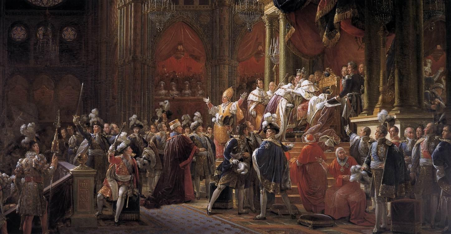 """Résultat de recherche d'images pour """"sacre de Charles X"""""""