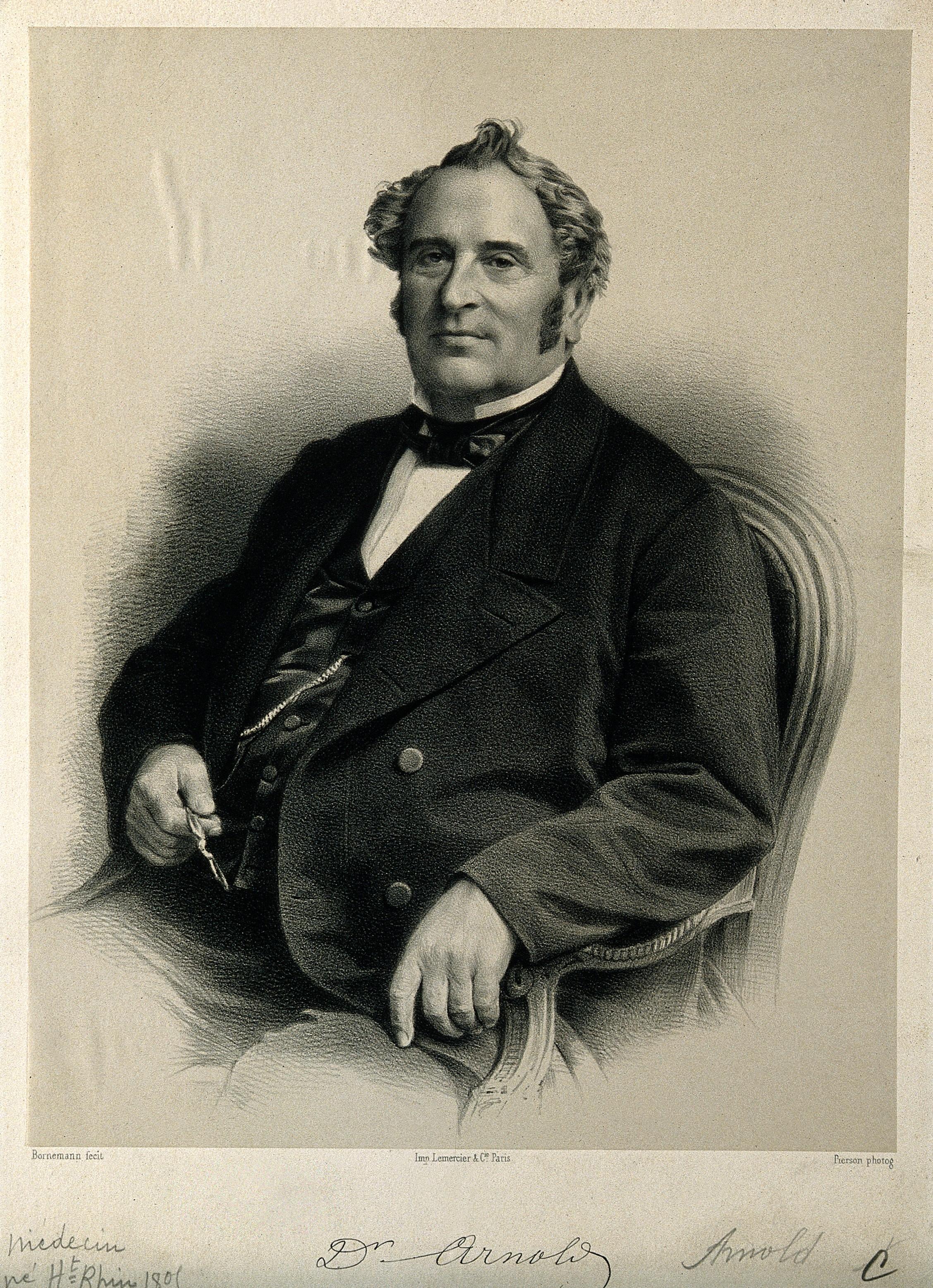 File:Friedrich Arnold  Lithograph by Bornemann after Pierson