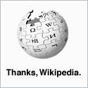 Wikipedia thanks