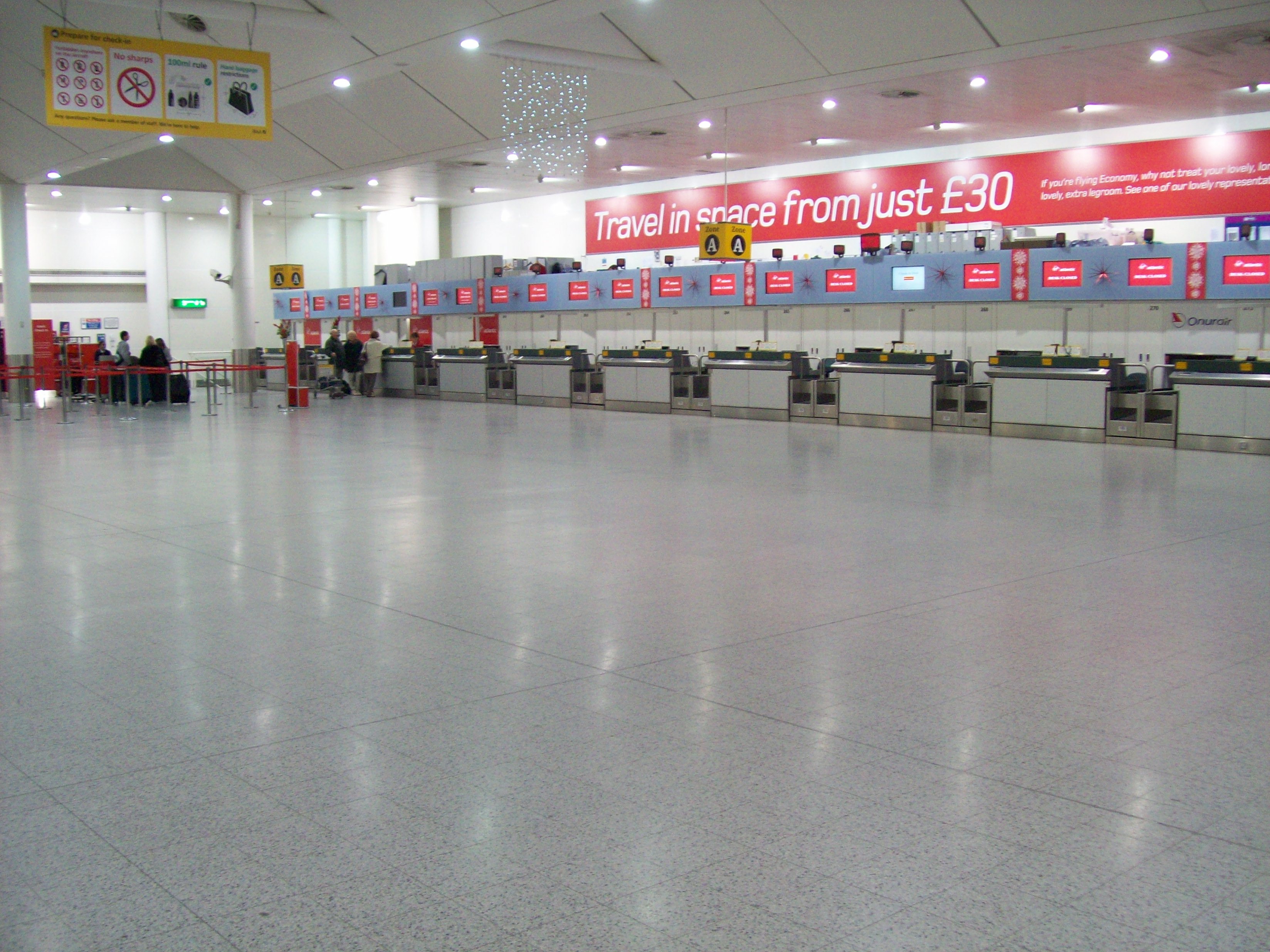 Gatwick Airport South Terminal Long Stay Car Park