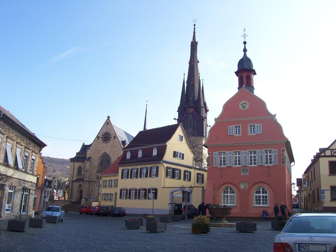 Town And Country Auto >> Gau-Algesheim - Wikipedia