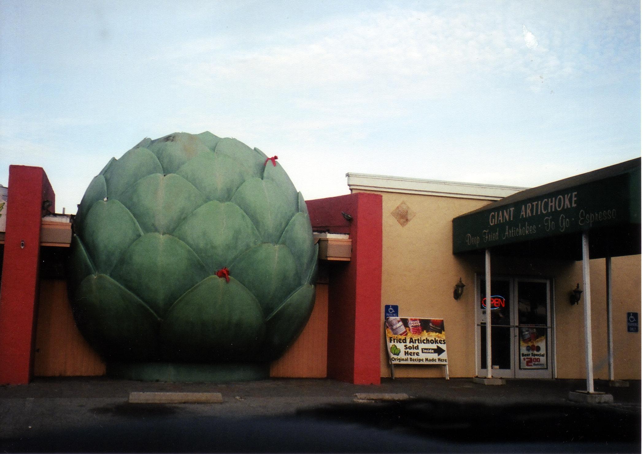 The Giant Artichoke Restaurant Castroville Ca