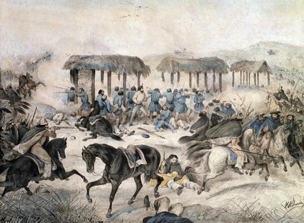File Giuseppe Garibaldi At The Battle Of San Antonio
