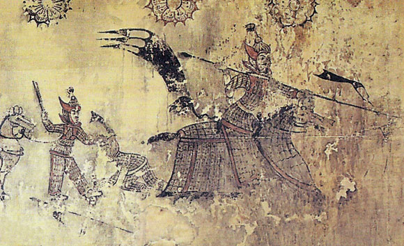 Goguryeo Wandpanzer, 37 BCE-668 CE.