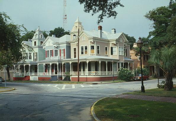 Beautiful old houses in Savannah, GA