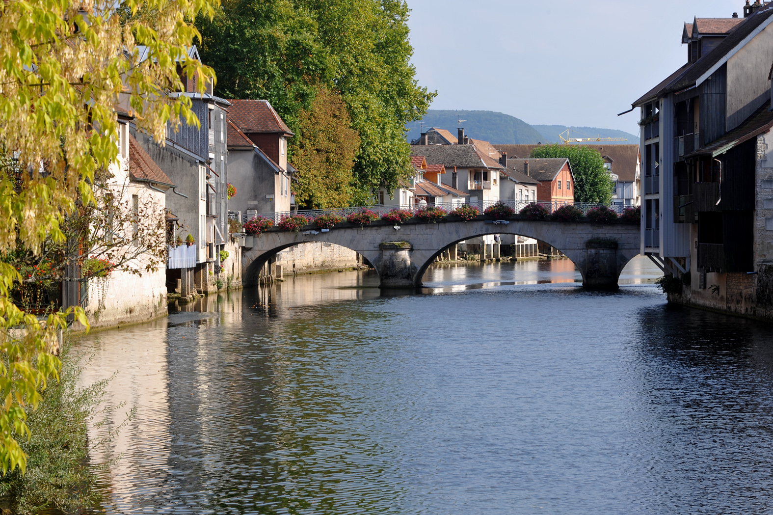 Ornans France  City pictures : Grand Pont, Ornans 01 09 Wikimedia Commons