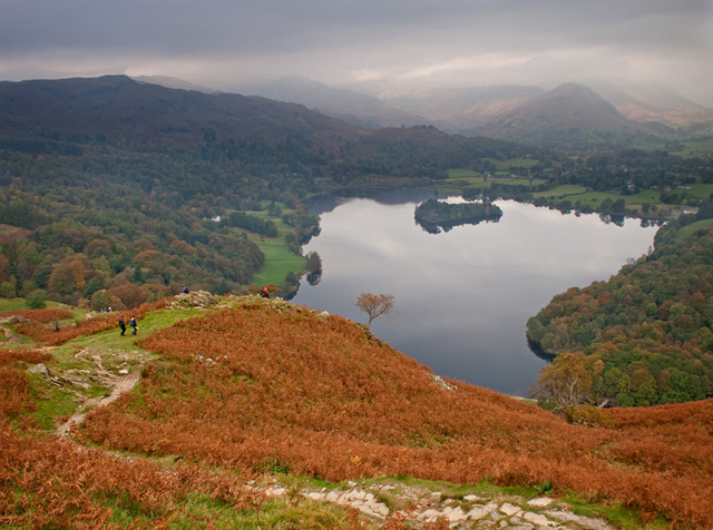 Grasmere from Loughrigg Fell - geograph.org.uk - 2169632
