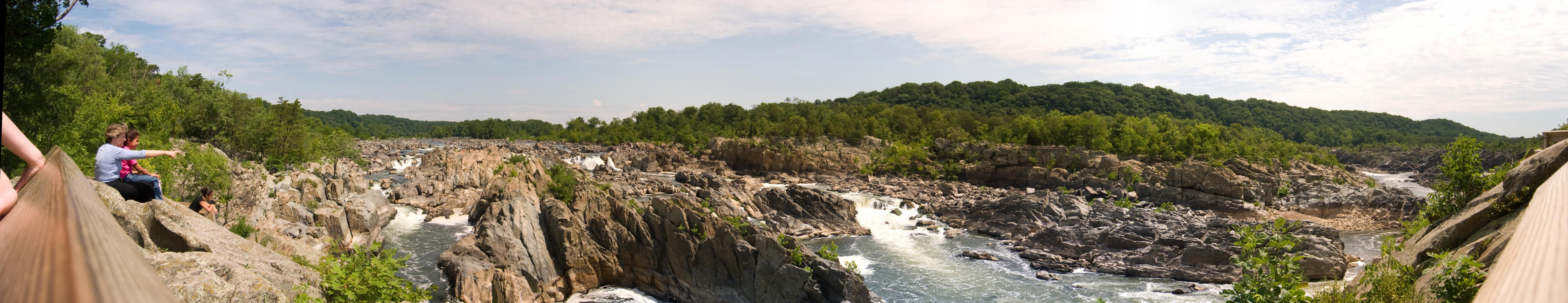 Le grandi cascate del Potomac