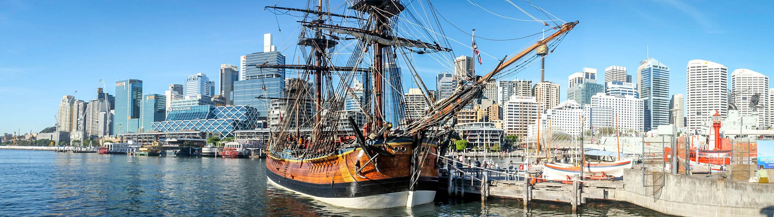 HM Bark Endeavour Replica