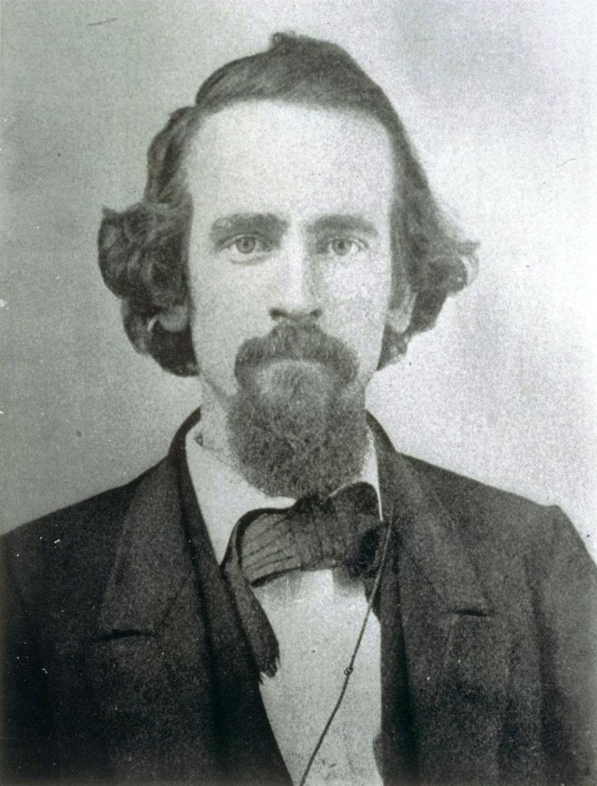 Dagurereotype de l'économiste américain Henry George (1839-1897) père du georgisme
