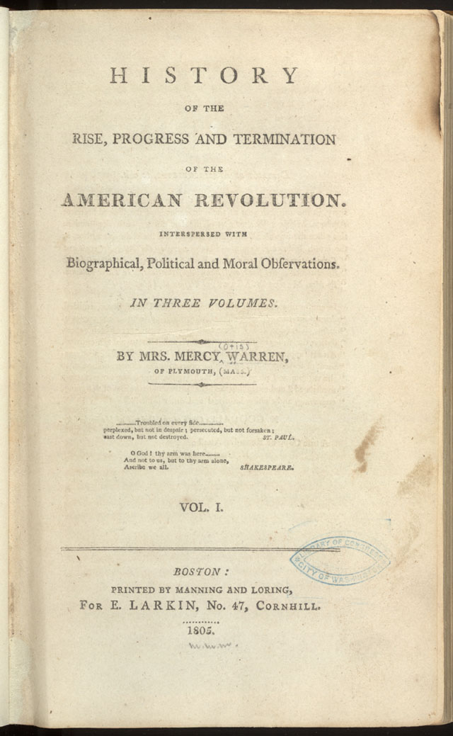 Causes and Effects of the Path-breaking American Revolution