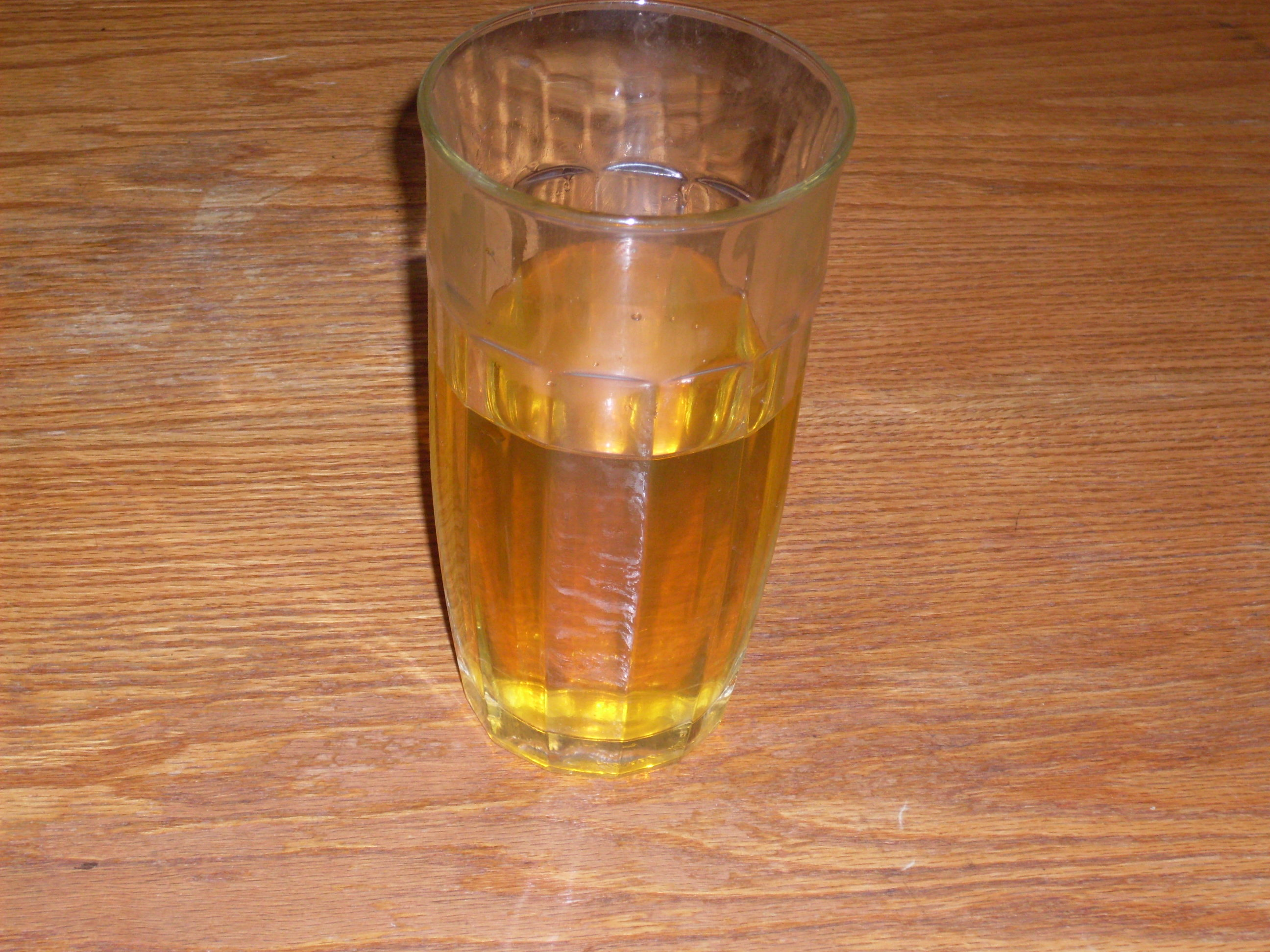 urine in glass