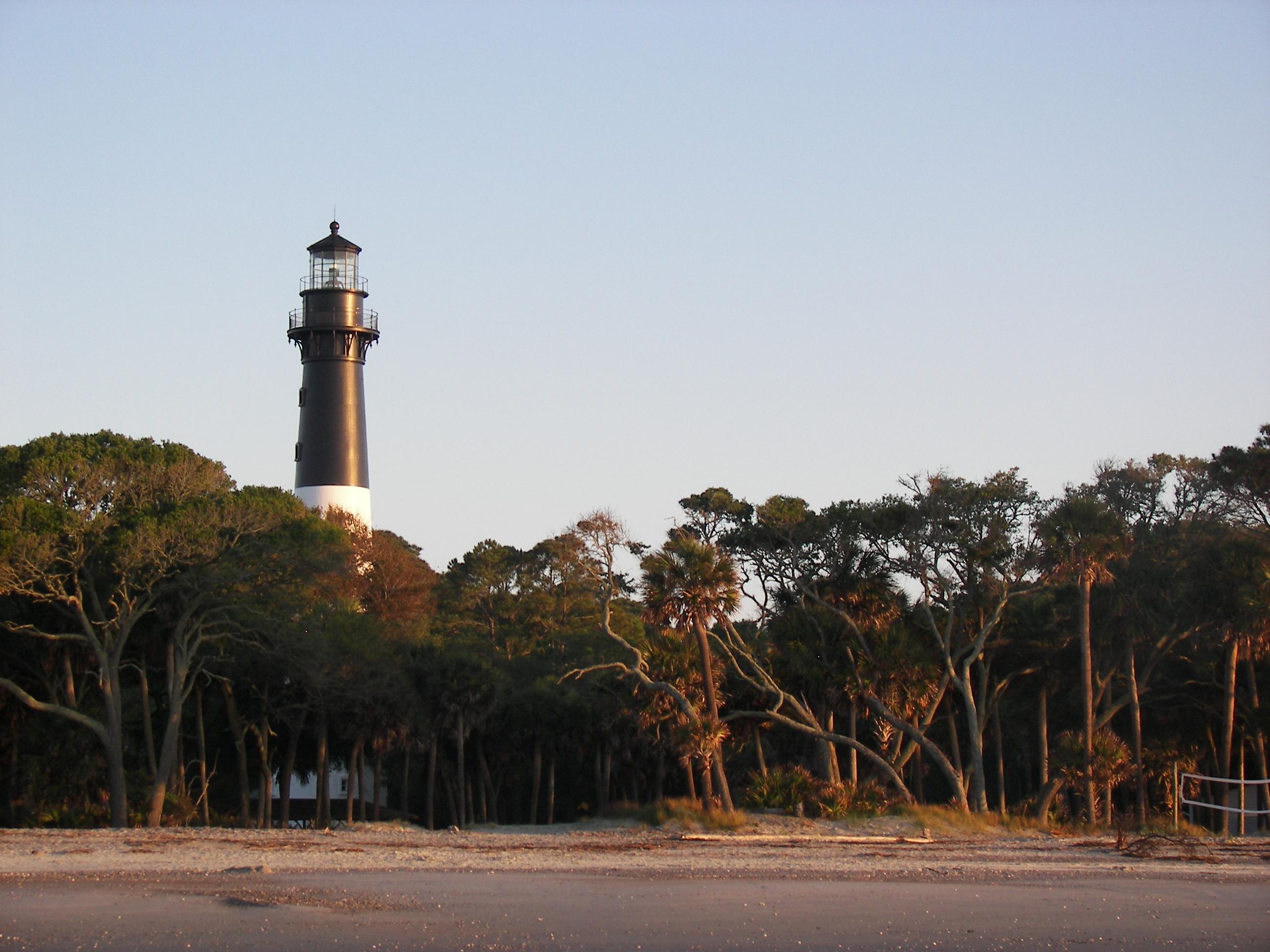 Hunting Island Beach Lighthouse