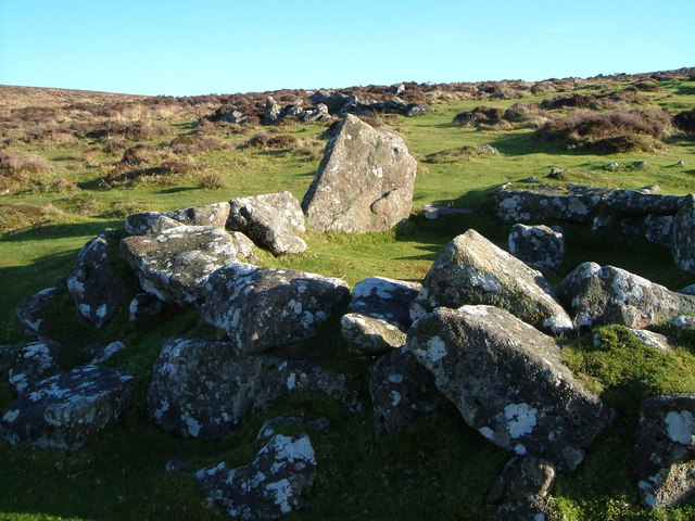 Hut 6, Grimspound - geograph.org.uk - 282176