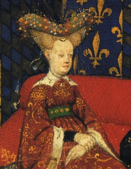 Isabeau of Bavaria, Queen of France (1370-1435) Isabeau de Baviere (detail).jpg