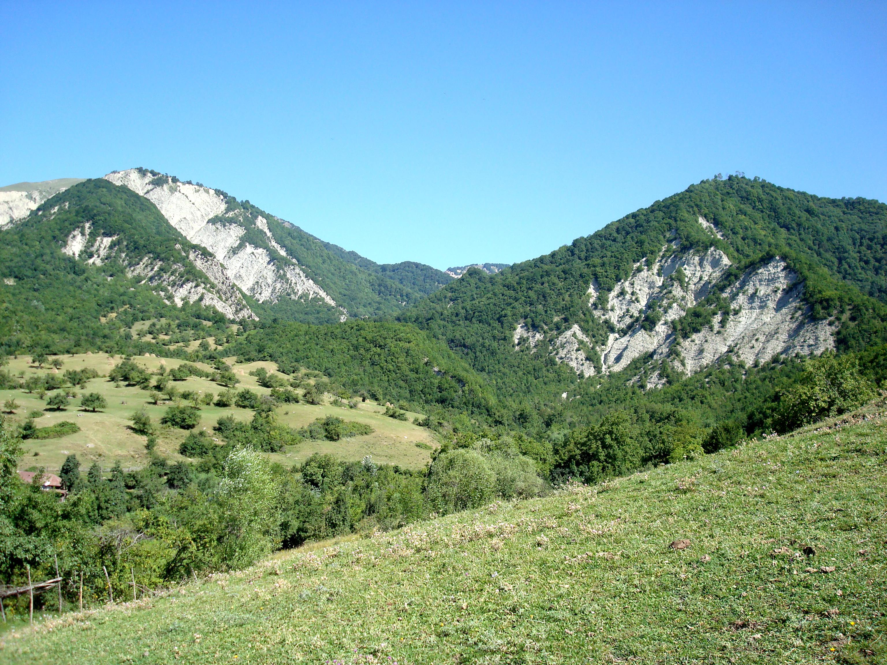 جنگلهای اسماعیلی در کشور آذربایجان
