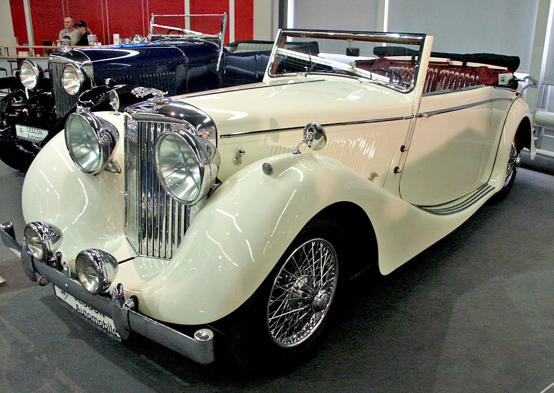 Jaguar SS 1939 года