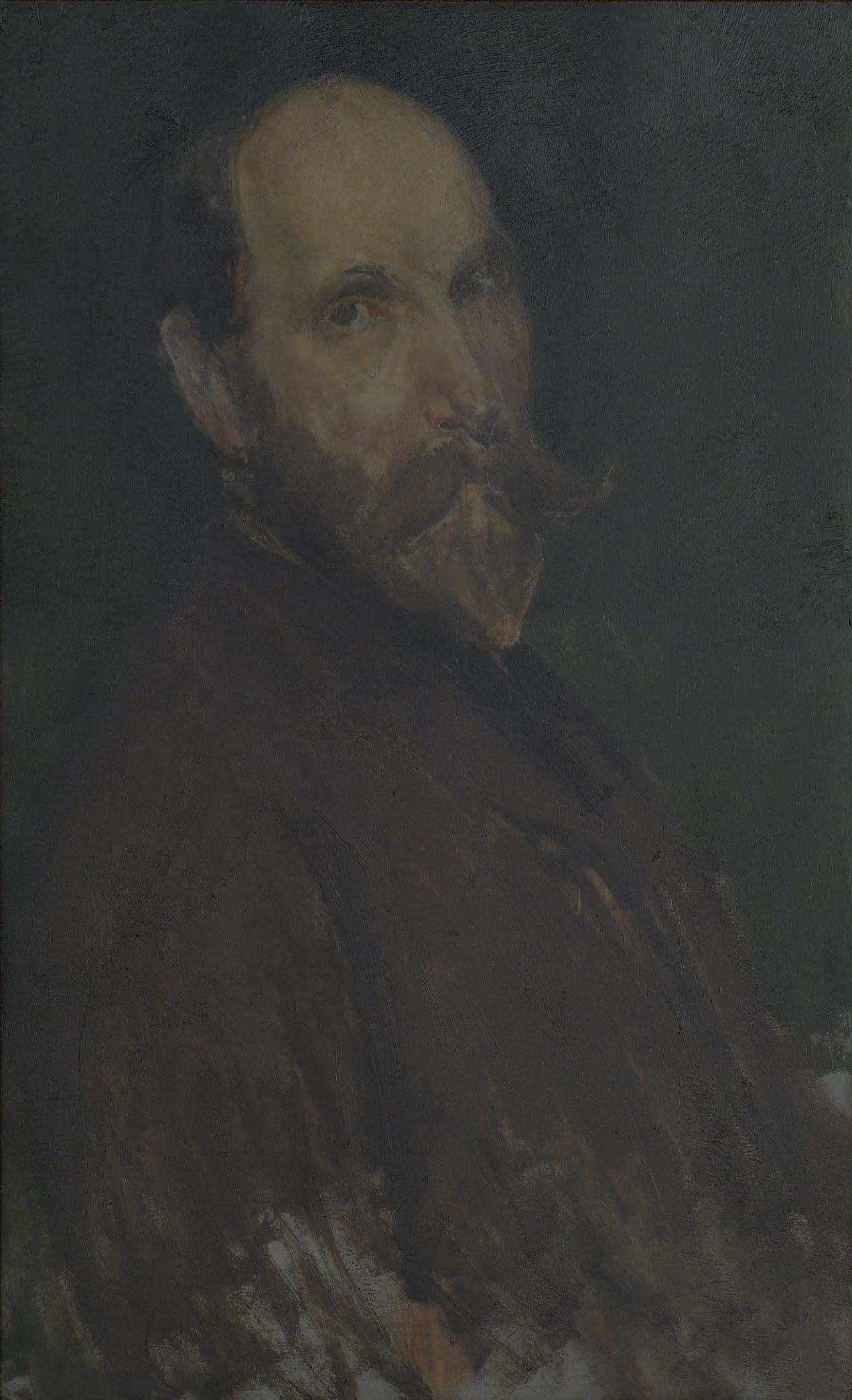 Charles Lang Freer FileJames McNeill Whistler 18541903 Portrait of