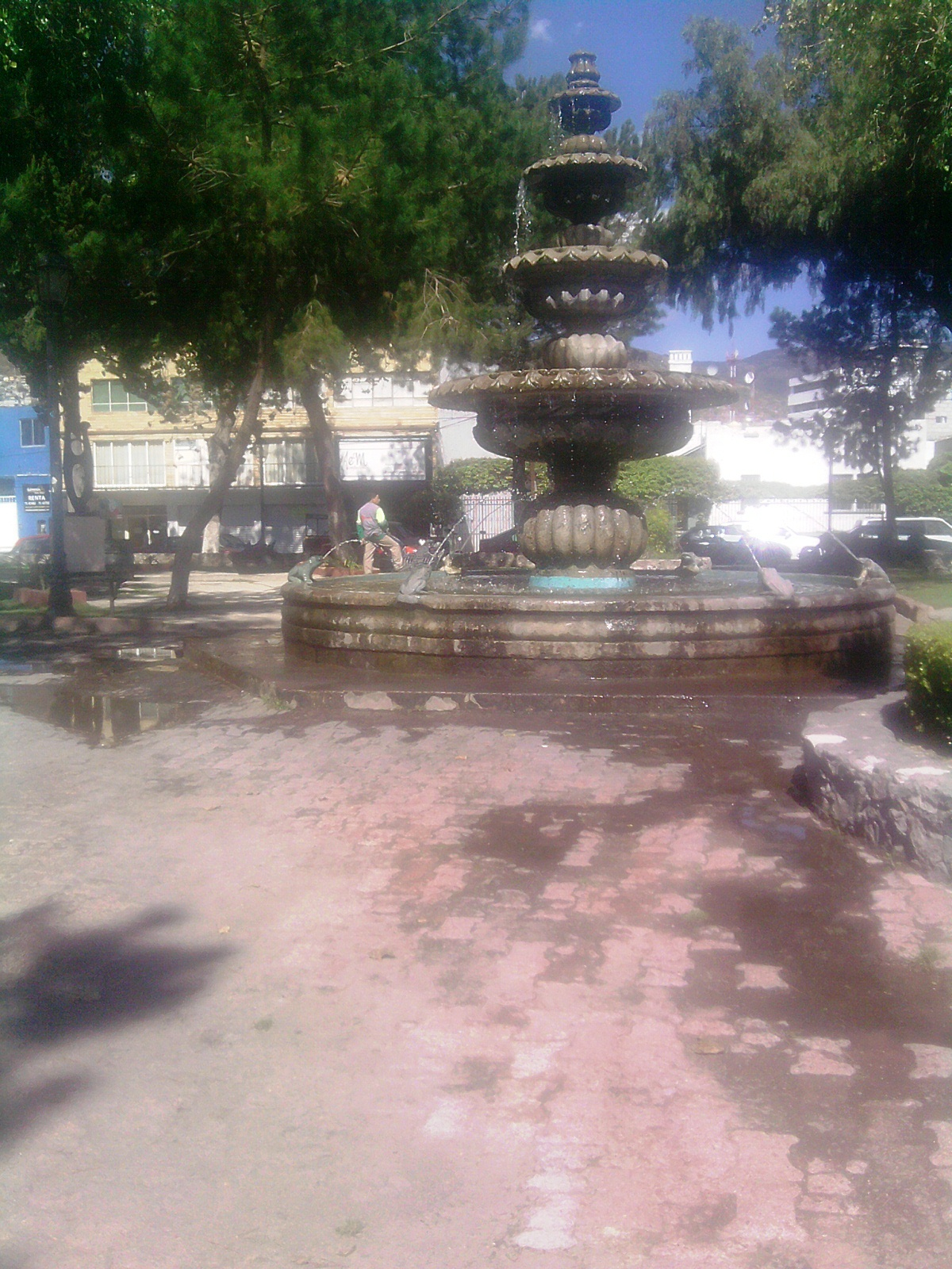 Archivo jardin de arte en pachuca wikipedia for Jardin hidalgo