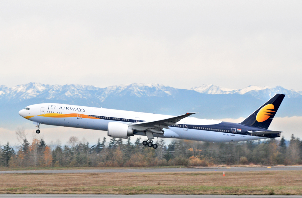 Boeing Jet Jet Airways Boeing 777-300er