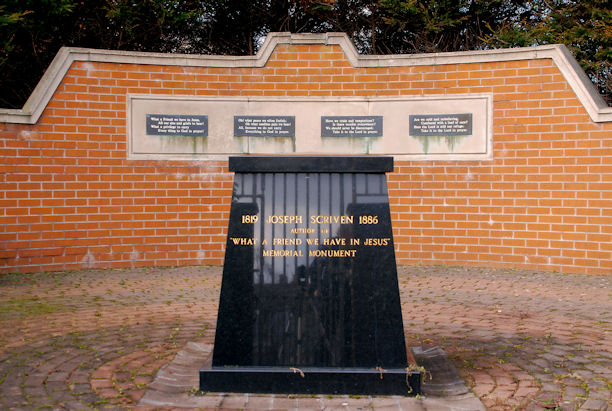 monument voor Scriven in Banbridge