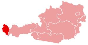 Vorarlberg in Austria