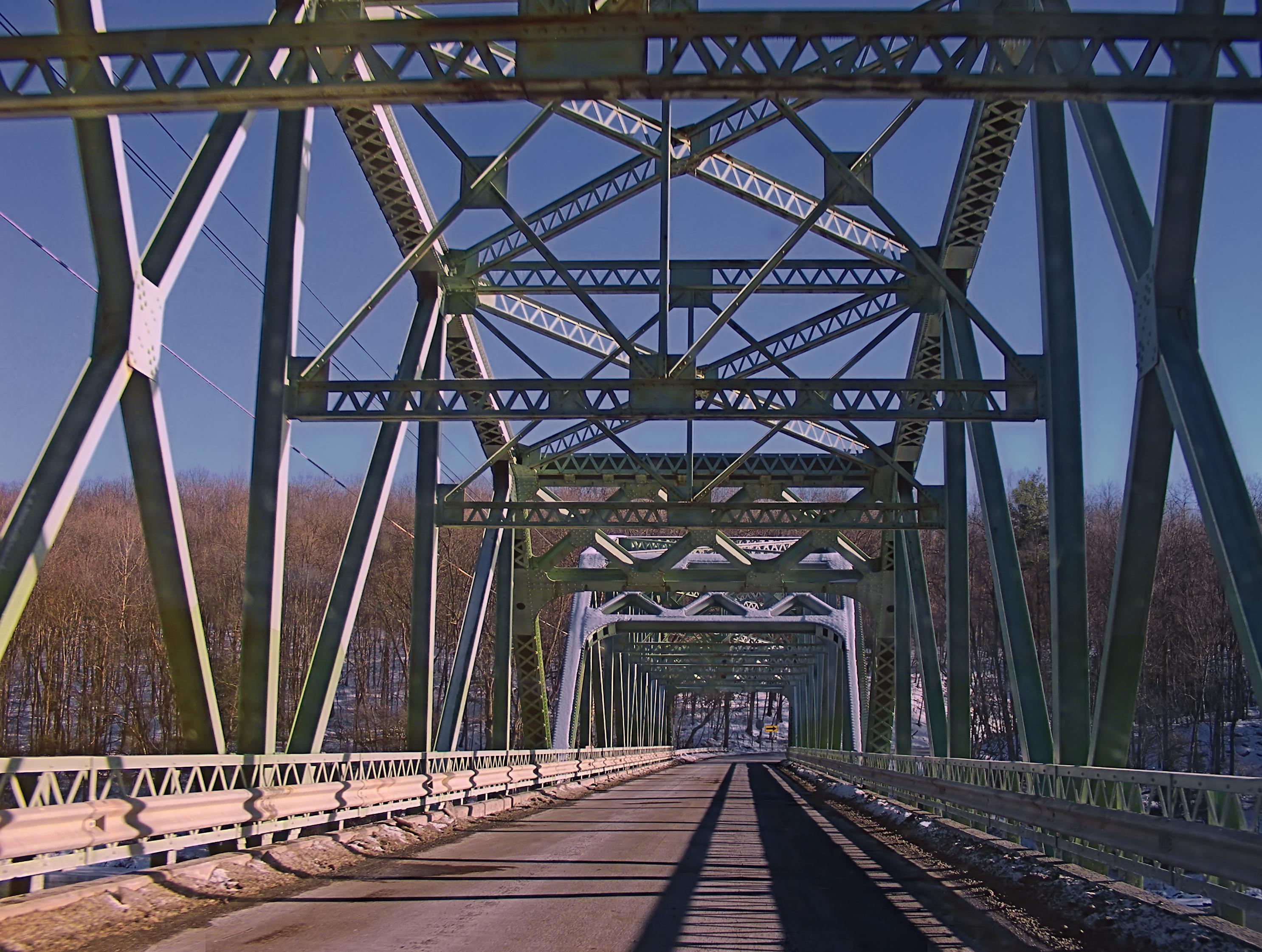 warren truss bridge famous truss bridges famous truss