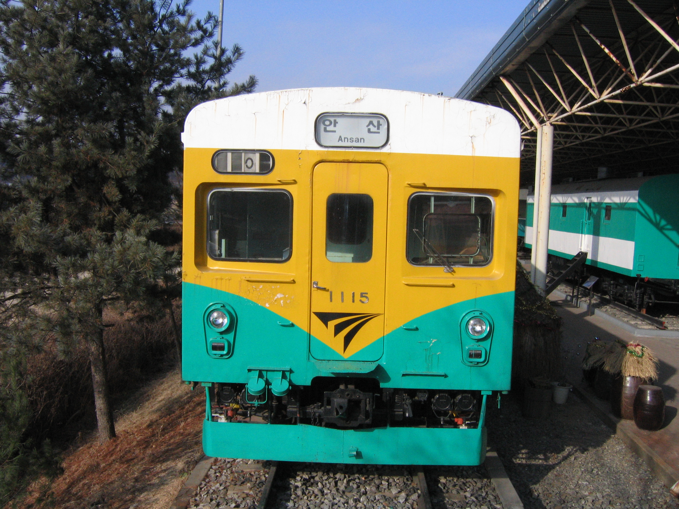 File:Korail 1115 preserved in railroad museum.jpg