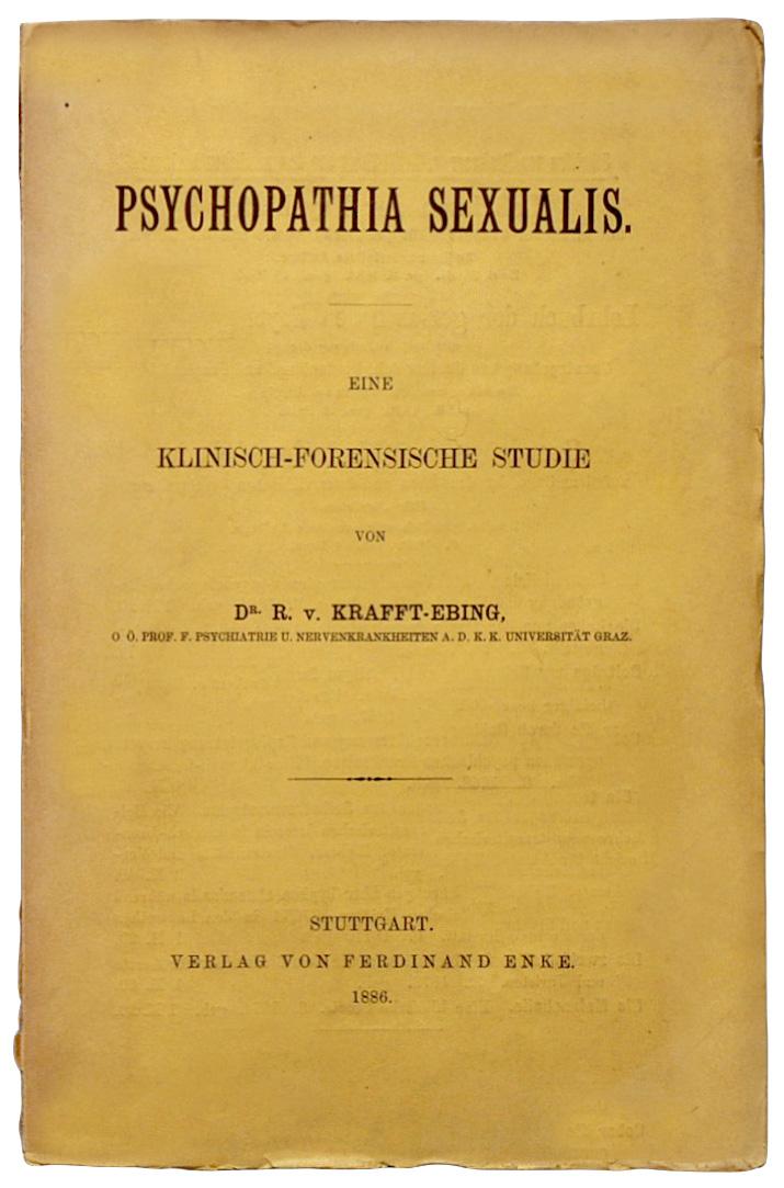 Krafft ebing psychopathia sexualis 1886