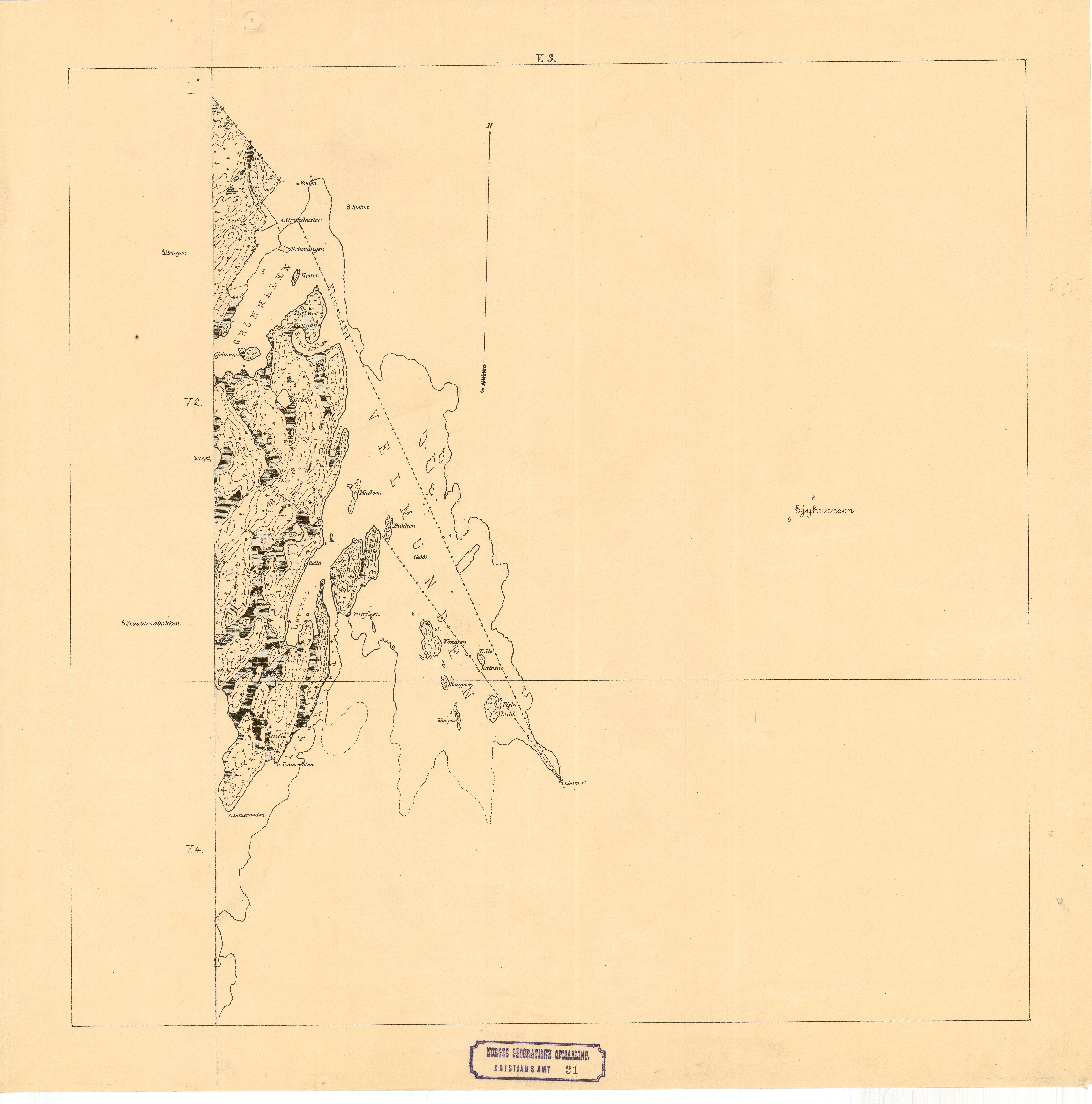 kart over hadeland File:Kristians amt nr 31 v3  Kart over Hadelands Almenning, 1904  kart over hadeland