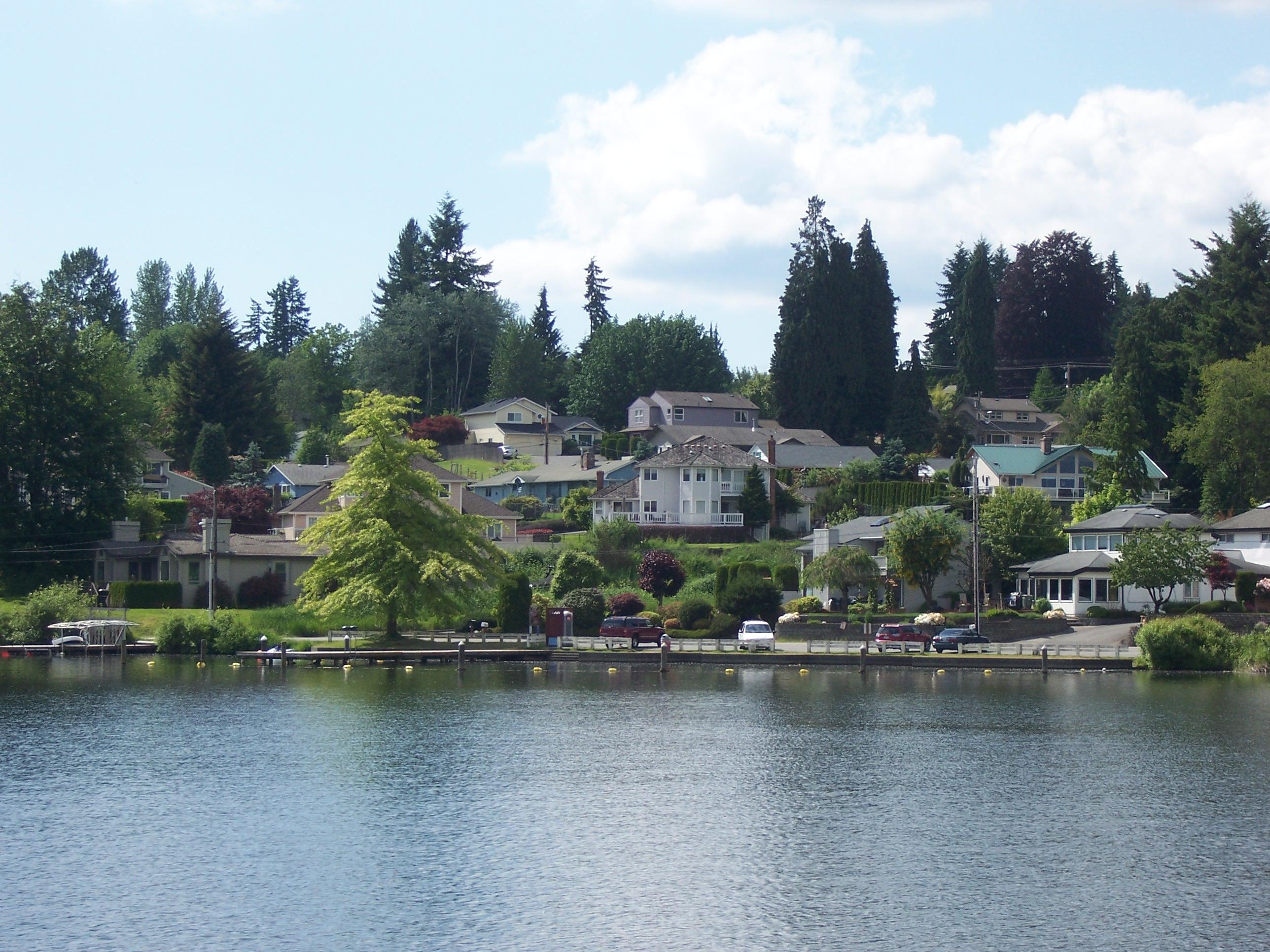 Lake Steven's Lakefront Homes