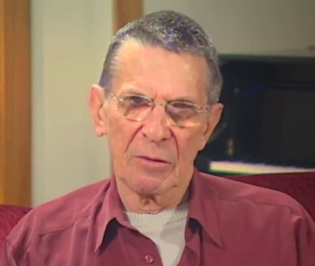 Leonard Nimoy NASA interview