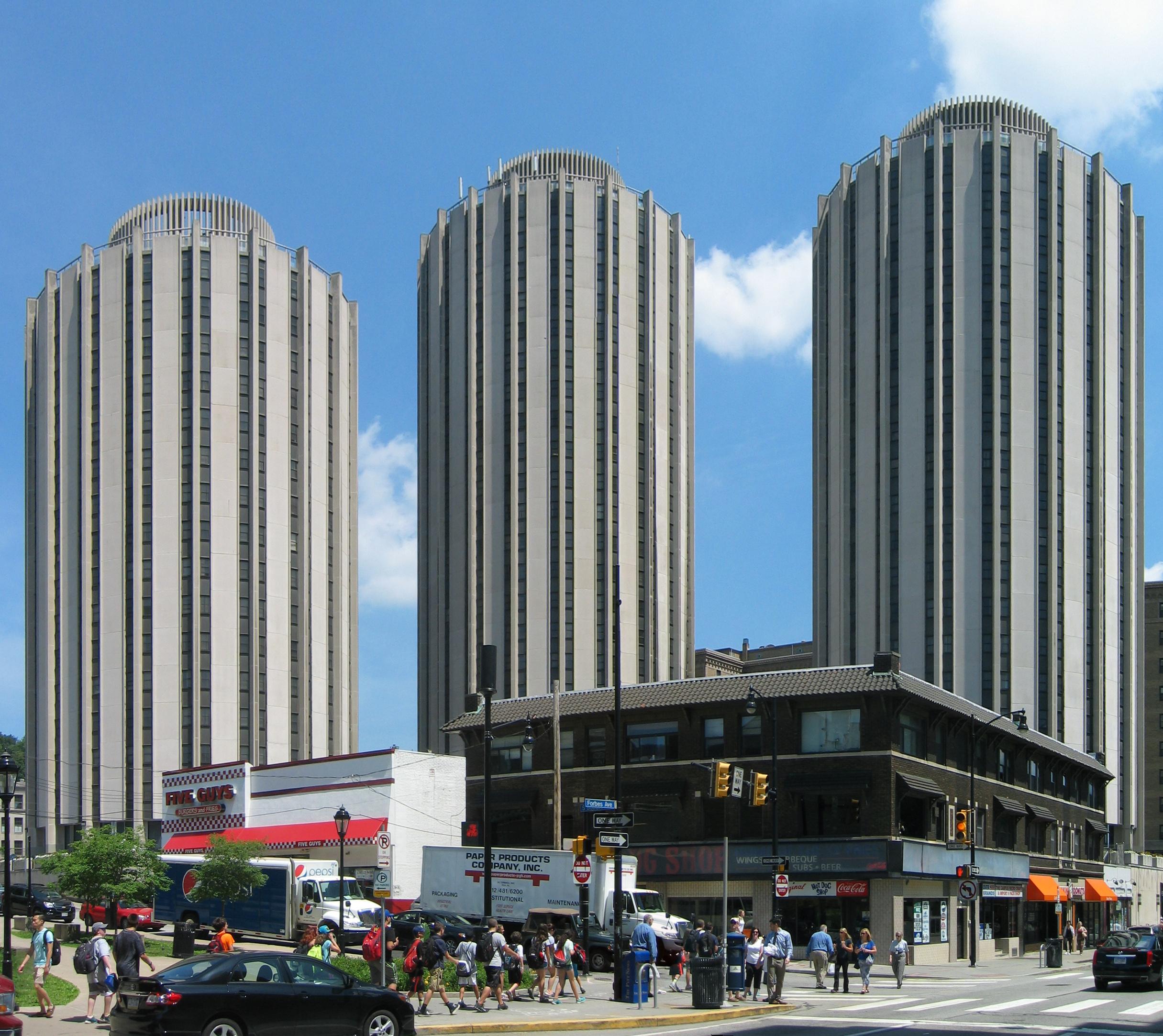 Oakland University Housing Buildings