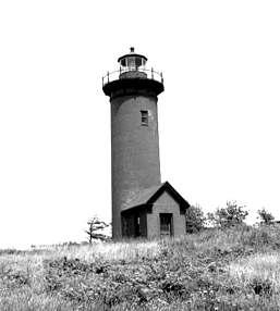 Long Island Head Light lighthouse in Massachusetts, United States