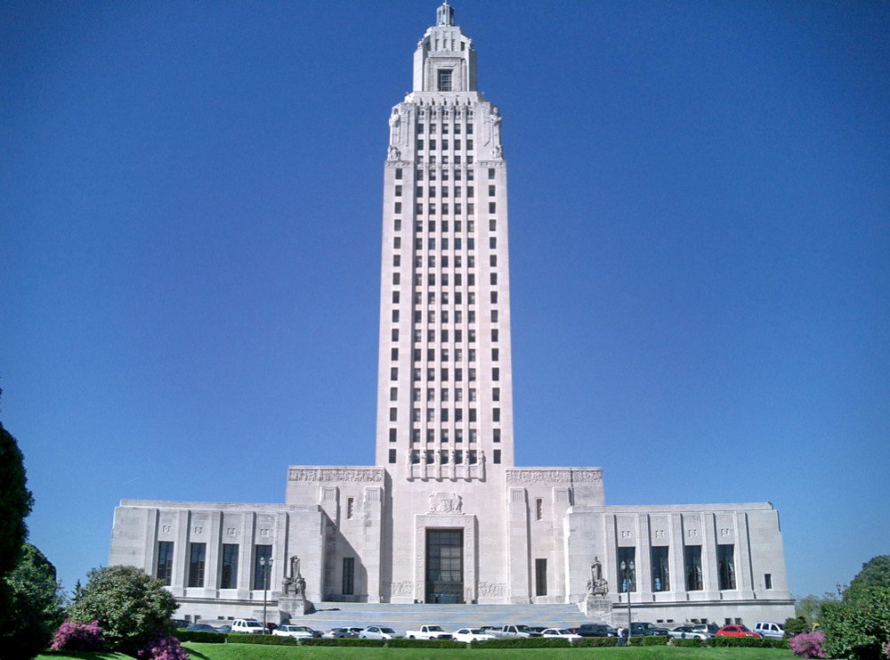 New State Capitol Building Baton Rouge