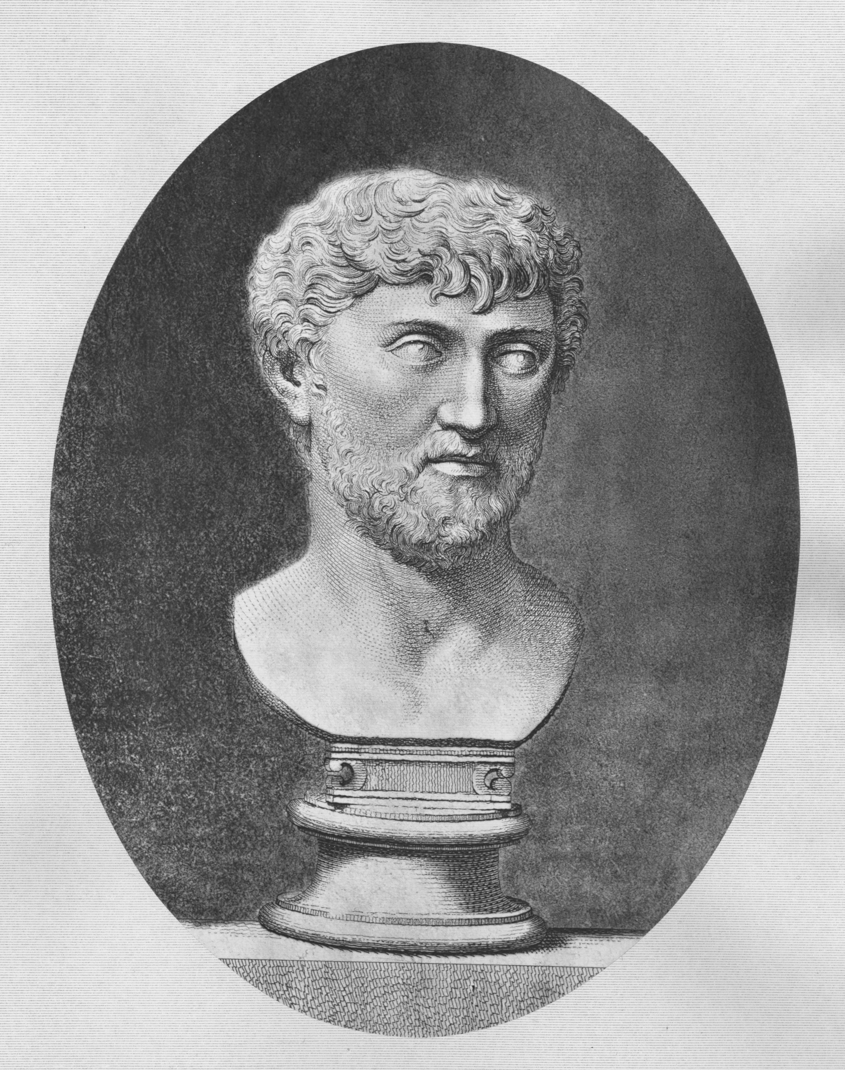 De rerum natura was written by the Roman poet Lucretius.