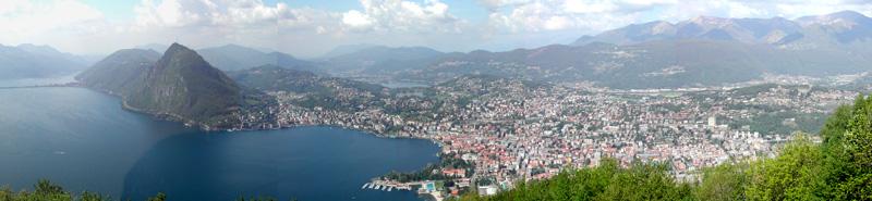 Panorama de Lugano