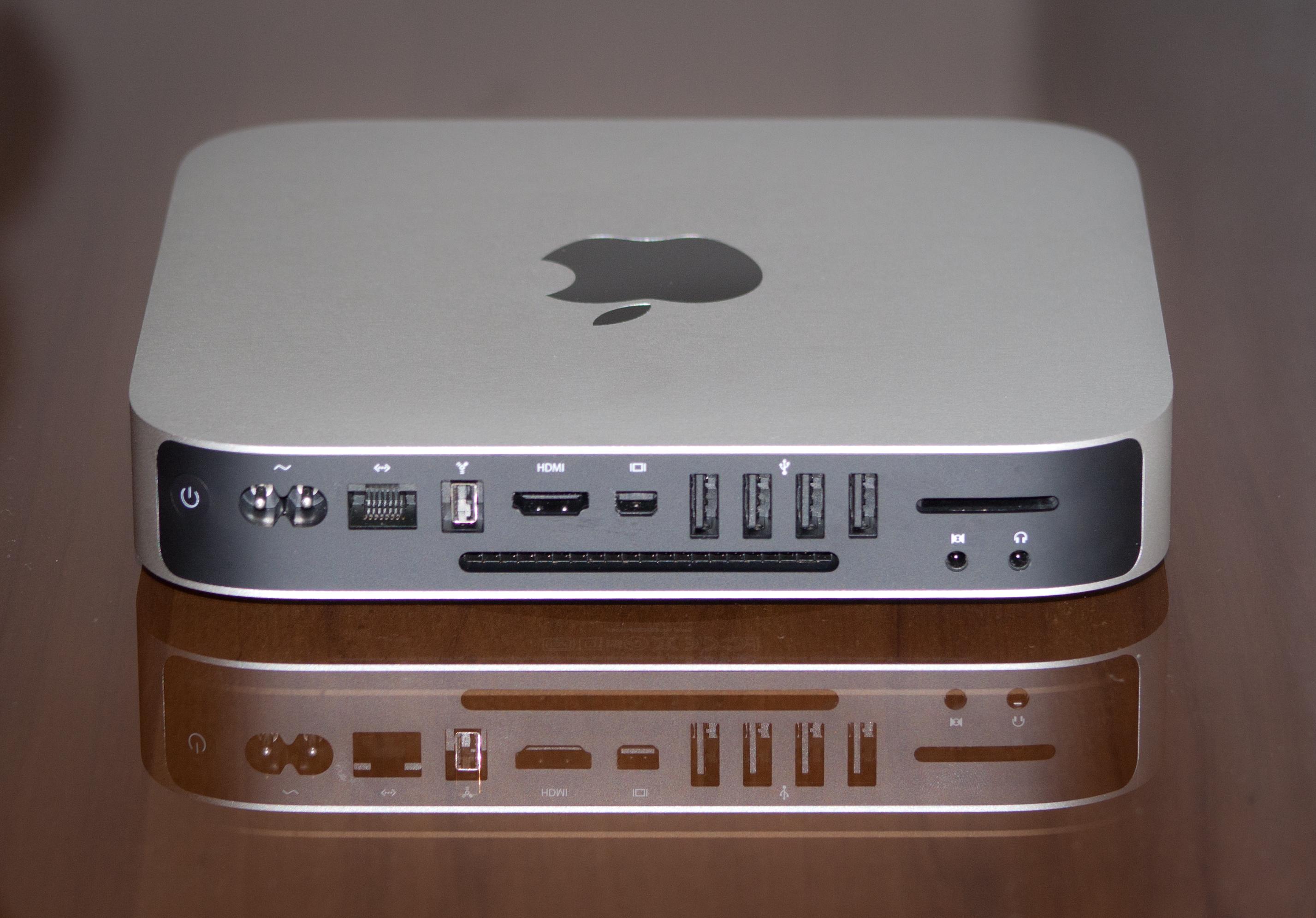 Description mac mini mid2010 back