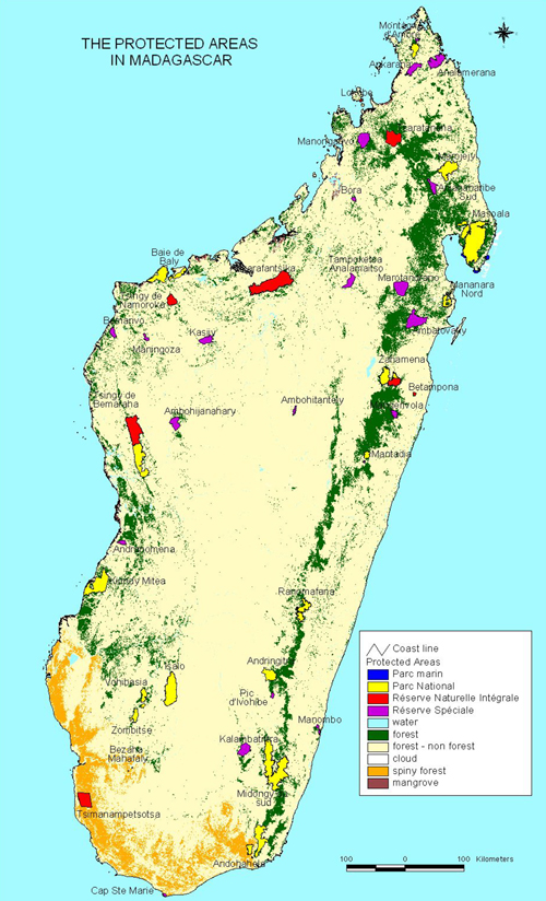 Madagaskar Karte Nationalparks.Nationalparks In Madagaskar Wikipedia