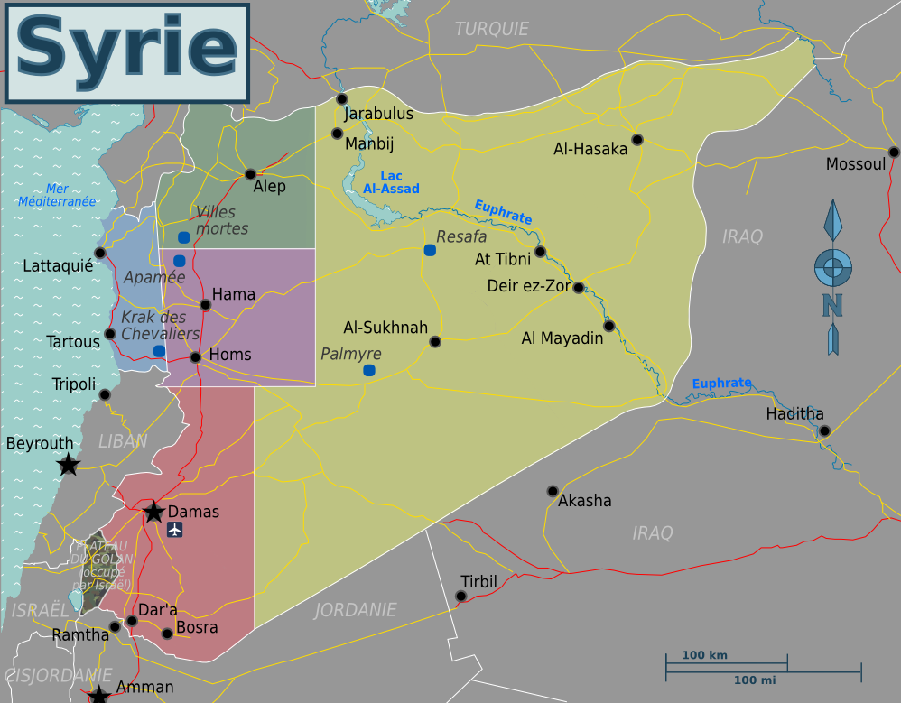 File:Map of Syria (fr).png - Wikimedia Commons