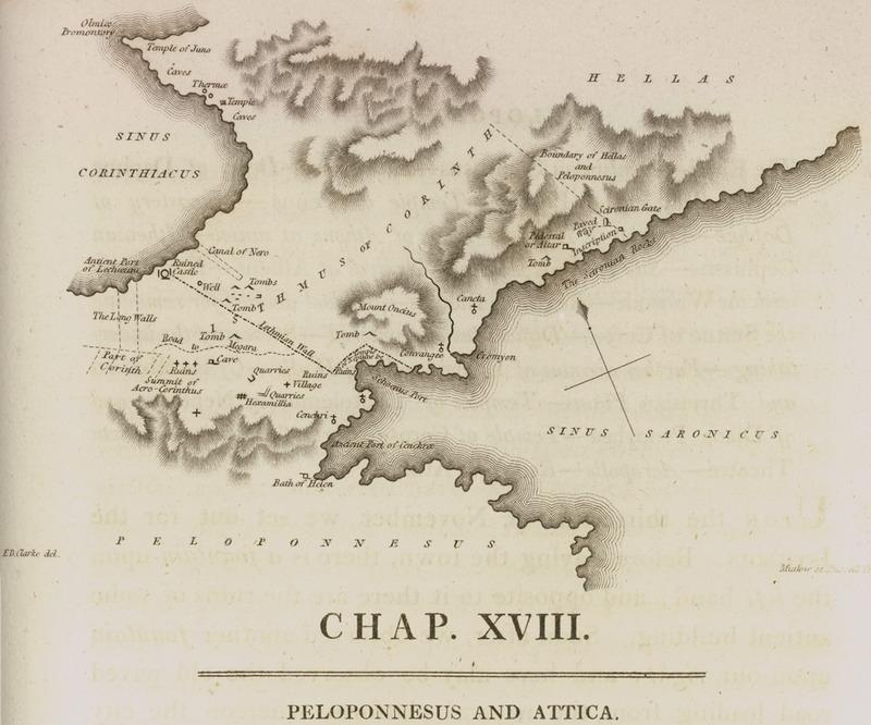 FileMap of the Isthmus of Corinth Clarke Edward Daniel 1813jpg