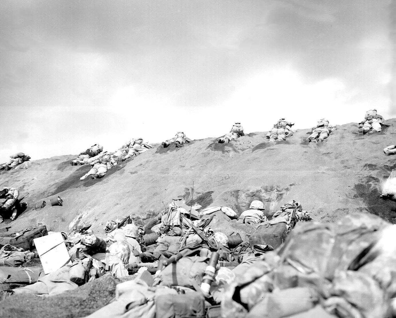 Iwo Jima 19 February 1945.