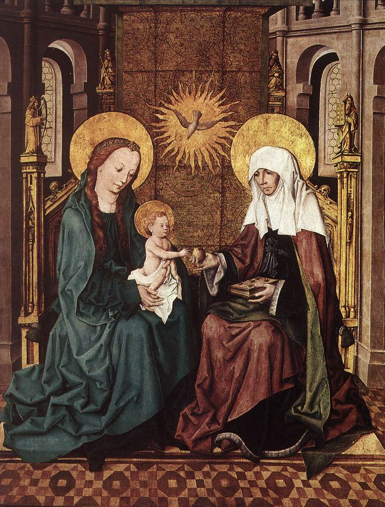 virgin and child with st anne The virgin and child with st anne, leonardo da vinci - thinglink view the interactive image by jenna fish want to know how this story was created yes start storytelling.