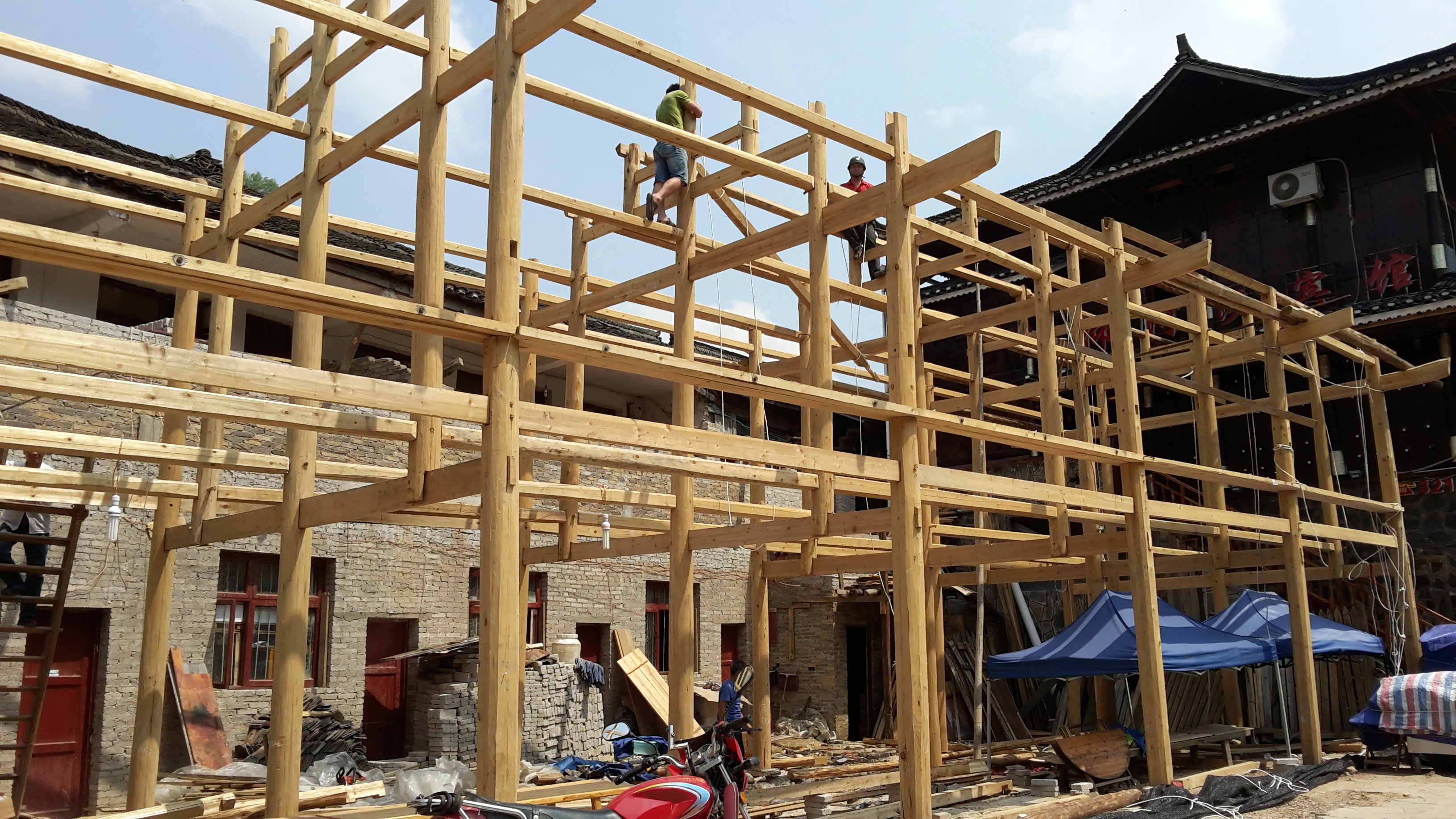 Bien construire une terrasse suspendue