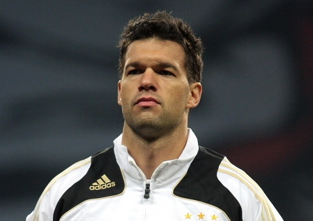 Michael Ballack earned a  million dollar salary, leaving the net worth at 25 million in 2017