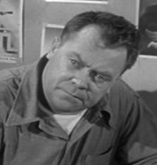 Schauspieler Mickey Shaughnessy