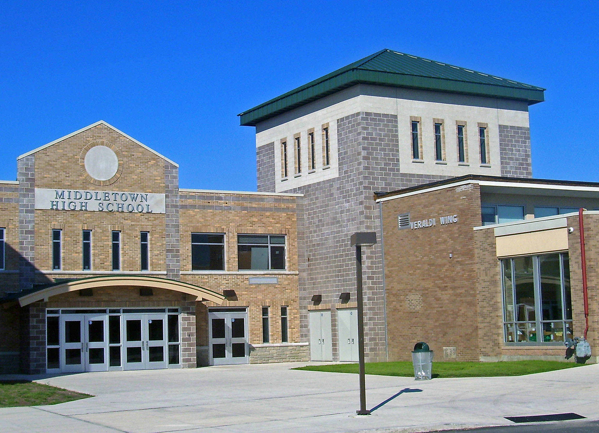 File:Middletown, NY, High School