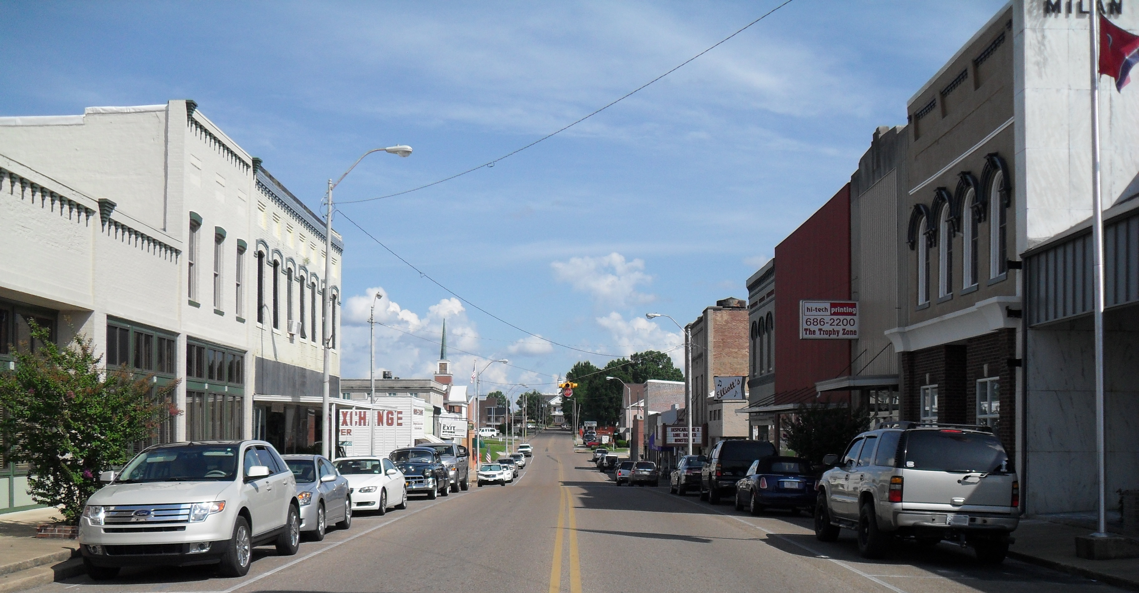 File Milan Tn Usa Main Street Looking Southeast Jpg