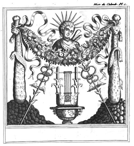 Illustration Calendrier.File Monde Primitif Histoire Du Calendrier Illustration